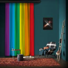 Rainbow One Piece Panel Curtain