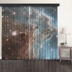 NGC 2174 2 Panel Tulle Curtain