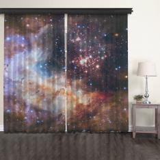 Westerlund 2 2 Panel Tulle Curtain