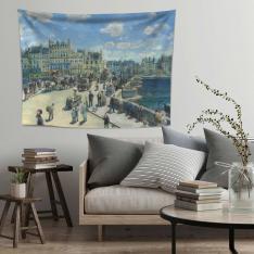 Auguste Renoir Pont Neuf Duvar Örtüsü