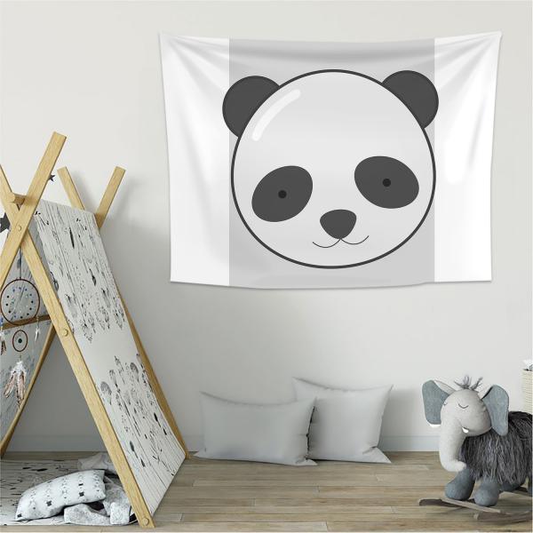 Cipcici Panda Duvar Örtüsü