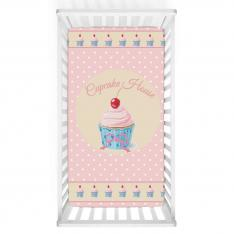Cupcake Dreams Baby Bed Cover