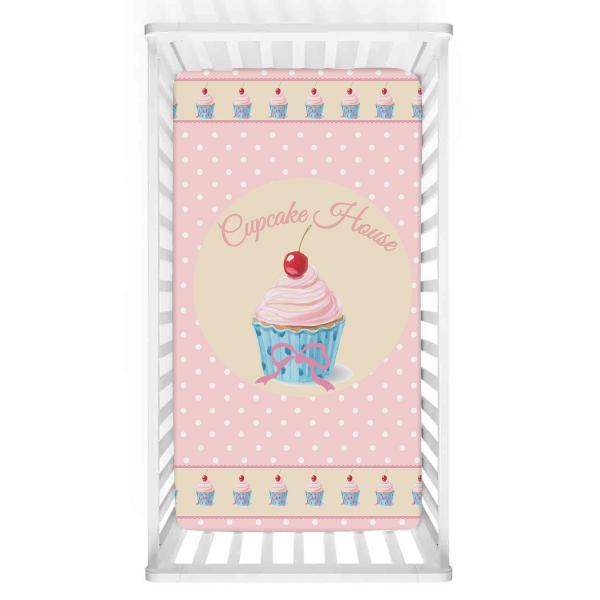 Cupcake Düşleri Bebek Yatak Örtüsü