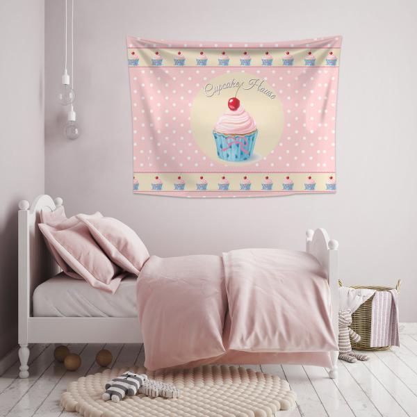 Cupcake Düşleri Duvar Örtüsü