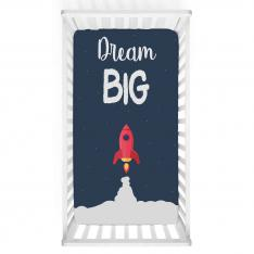 ''Dream Big'' Baby Bed Cover