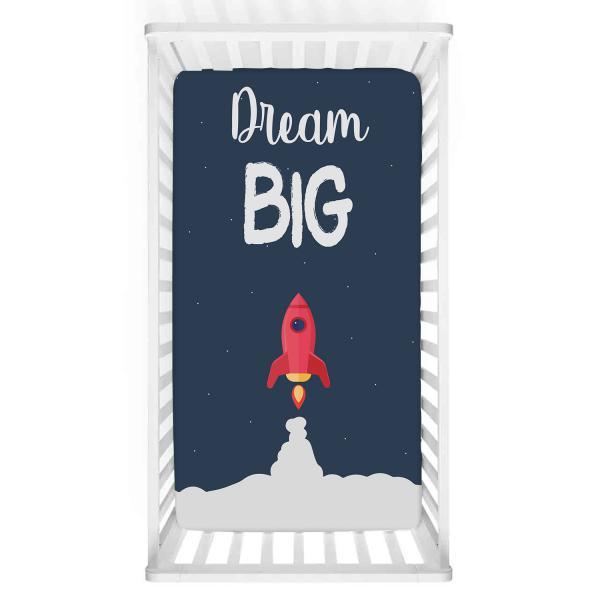 ''Dream Big'' Bebek Yatak Örtüsü