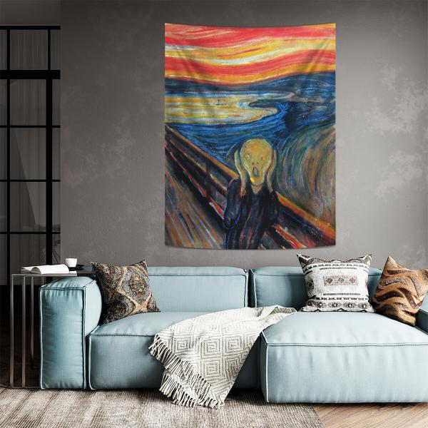 Edvard Munch - Çığlık Duvar Örtüsü