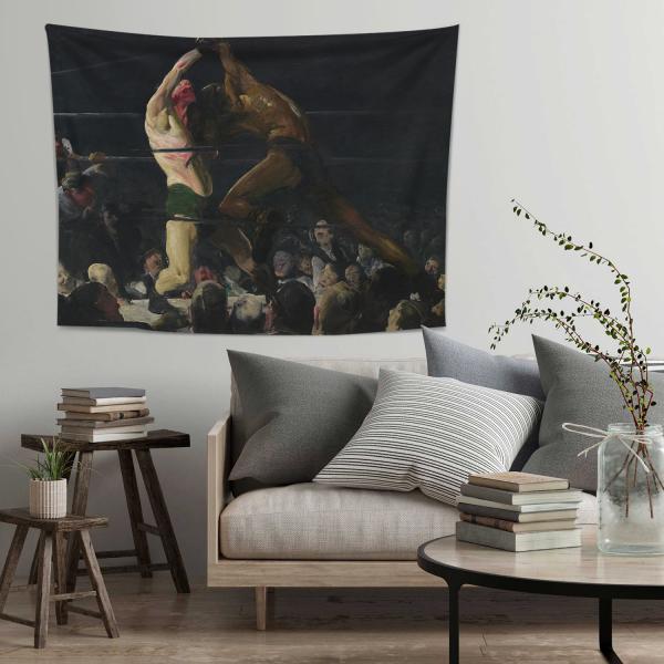 George Bellows-Bu Kulübün İki Üyesi Duvar Örtüsü