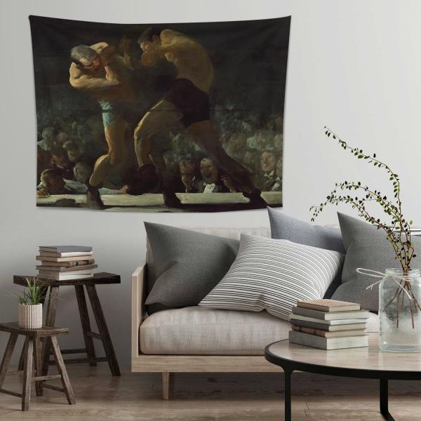 George Bellows Gece Kulübü Duvar Örtüsü