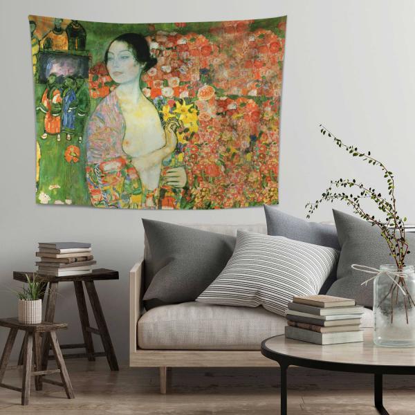 Gustav Klimt - Dansçı Duvar Örtüsü