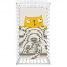 Lazy Cat Baby Bed Cover