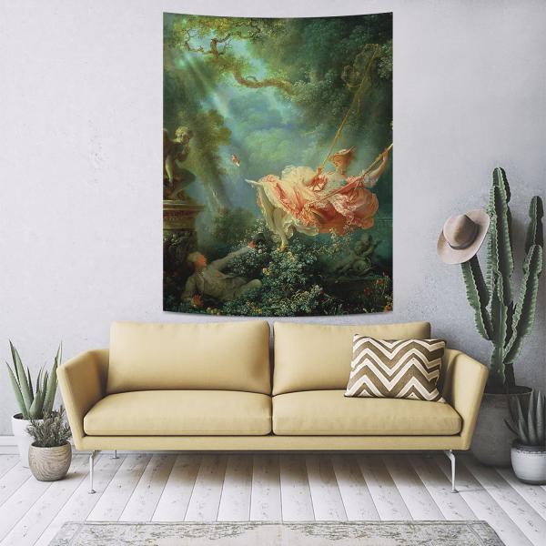 Jean Honore Fragonard - Salincak Duvar Örtüsü