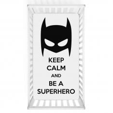 Hero Kid Printed Baby Bed Cover