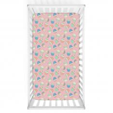 Cup Cake Baby Bed Cover