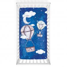 Traveler Bunny Baby Bed Cover