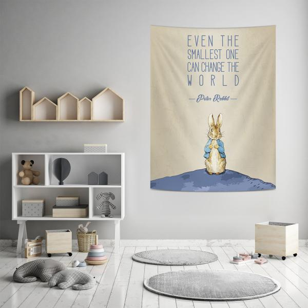 Peter Rabbit Dünyası Duvar Örtüsü