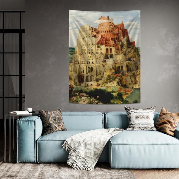 Pieter Brueghel - Babil Kulesi Duvar Örtüsü