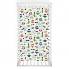 Colourful Clouds Baby Bed Cover