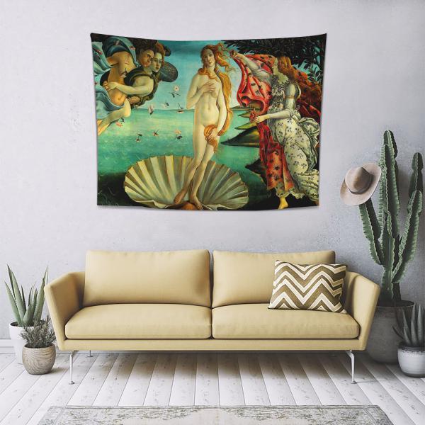 Sandro Botticelli - Venüs'ün Doğuşu Duvar Örtüsü