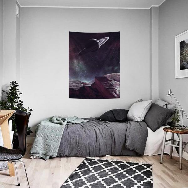 Satürn Duvar Örtüsü