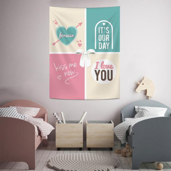 Sevgililer Duvar Örtüsü