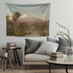 Tamaca Palmiyeleri Duvar Örtüsü