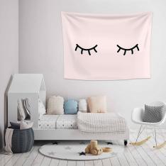 Sleepy Pink Wall Spread