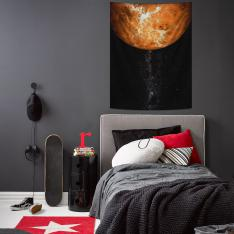 Venüs Atmosferi Duvar Örtüsü