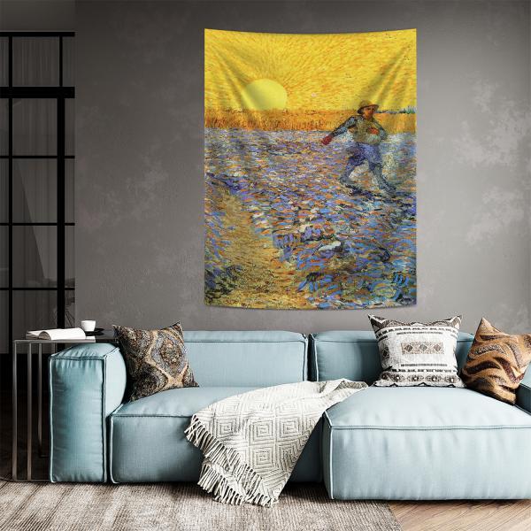 Vincent Van Gogh - Tohum Eken Duvar Örtüsü