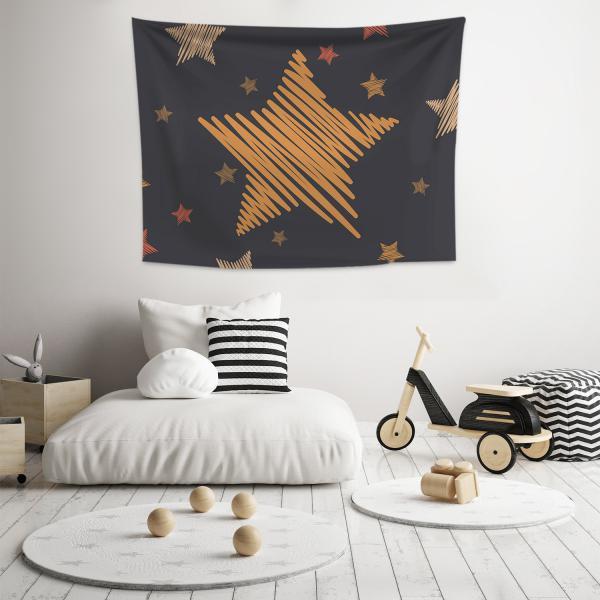 Yıldız Rüyası Model 2 Duvar Örtüsü