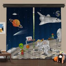 Cipcici Theatre Space Buddies 2 Panel Blackout Curtain