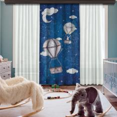 Traveler Bunny Single Piece Blackout Curtain
