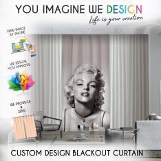 Custom Design Blackout Curtain
