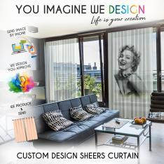 Custom Sheer Curtain