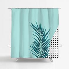 Mint Green Shower Curtain