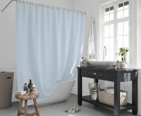 Cipcici Colors Blue Shower Curtain