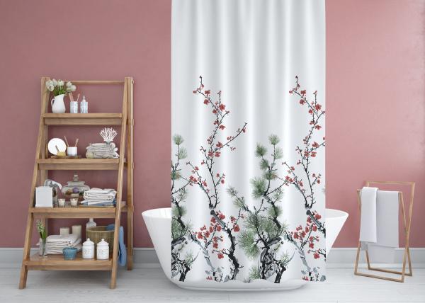 Cipcici Pine Shower Curtain