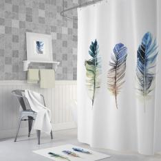 Cipcici Plume Shower Curtain