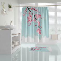 Cipcici Sakura Shower Curtain