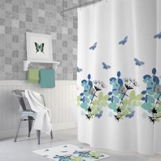 Cipcici Spring Shower Curtain