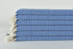 Almes Peştemal-Siyah Çizgili Mavi