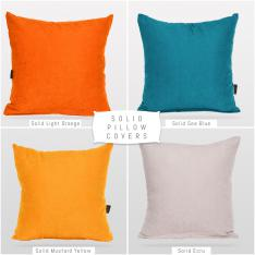 Decorative 4-Piece Pillow Case Set-1