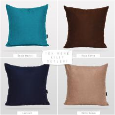 Decorative 4-Piece Pillow Case Set-4