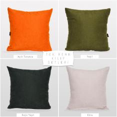 Decorative 4-Piece Pillow Case Set