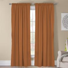 Frenk ''Single Panel'' Decorative Curtain-Gold