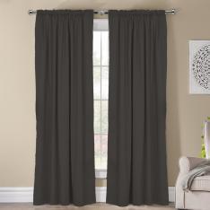 Frenk ''Single Panel'' Decorative Curtain-Anthracite