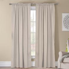 Frenk ''Single Panel'' Decorative Curtain-Ecru