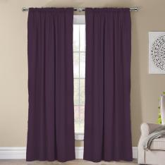 Frenk ''Single Panel'' Decorative Curtain-Purple