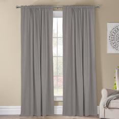 Kohinor ''Single Panel'' Blackout Curtain-Light Grey