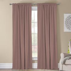 Kohinor ''Single Panel'' Blackout Curtain-Light Pink